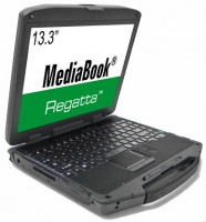 MediaBook® Regatta™ 13R Fully Rugged